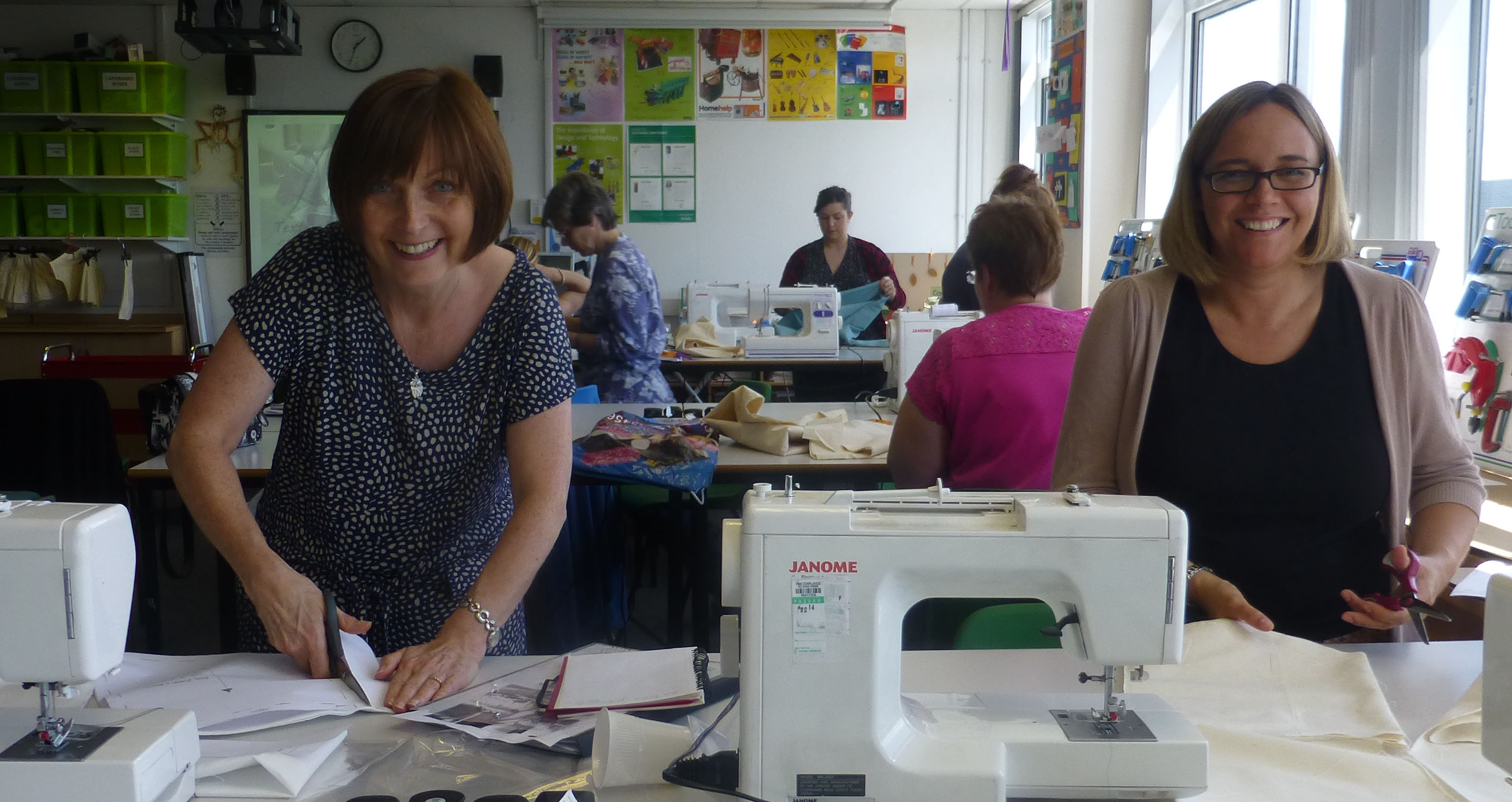 Inspiring Textiles - Practical Session