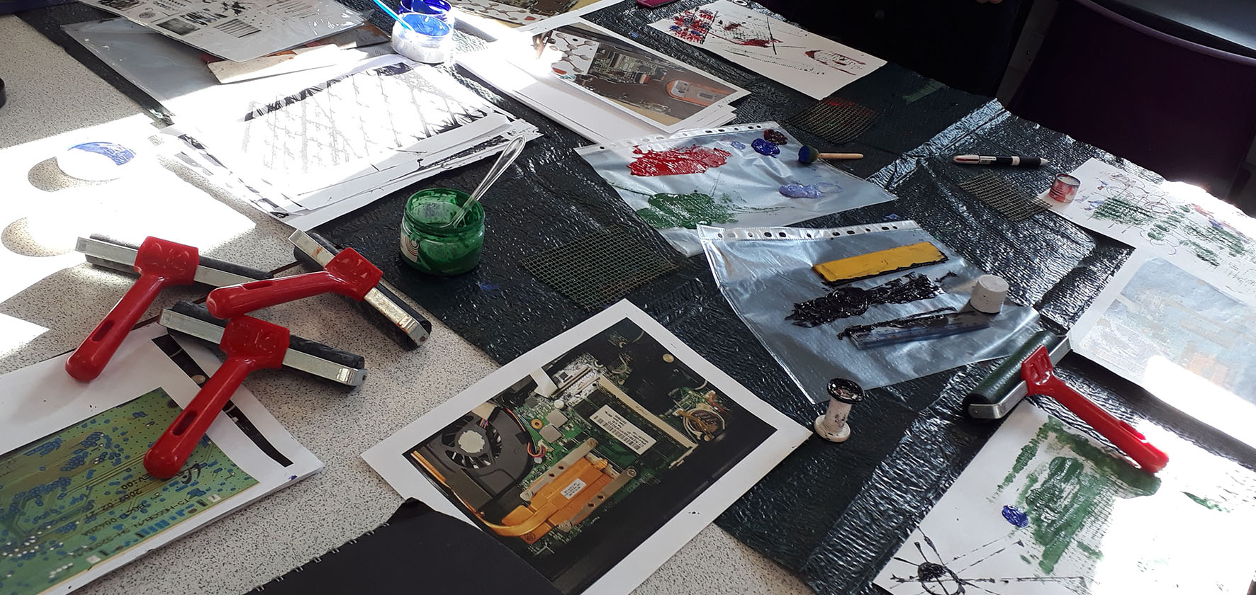 Nicky Simpson Textiles workshop