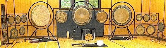 Gong Panorama at the Sonic Gym