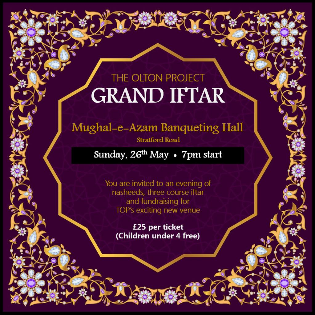 The Olton Project Grand Iftar 2019