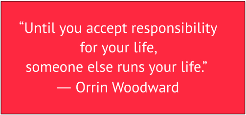 Accept Responsibility Banner