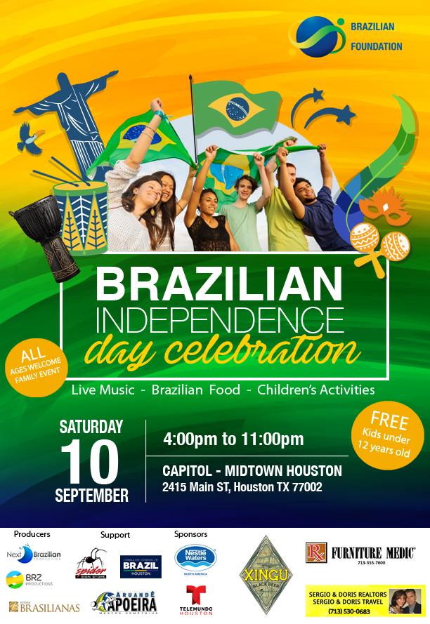Brazilian Independence Day Celebration – Houston