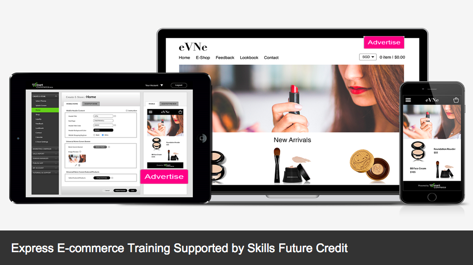 Express E-Commerce Training Supported by Skills Future Credit