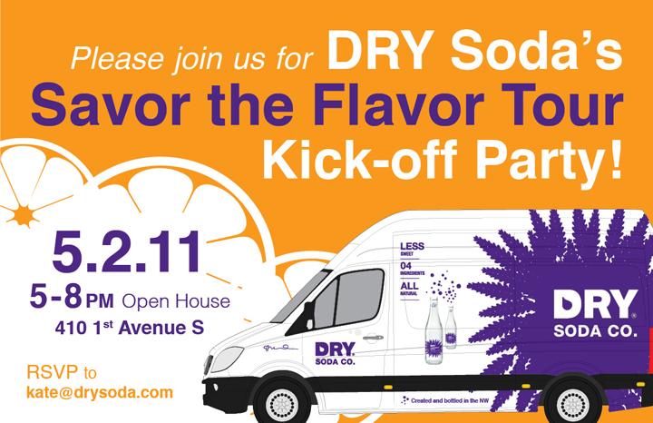 DRY Soda tour kickoff