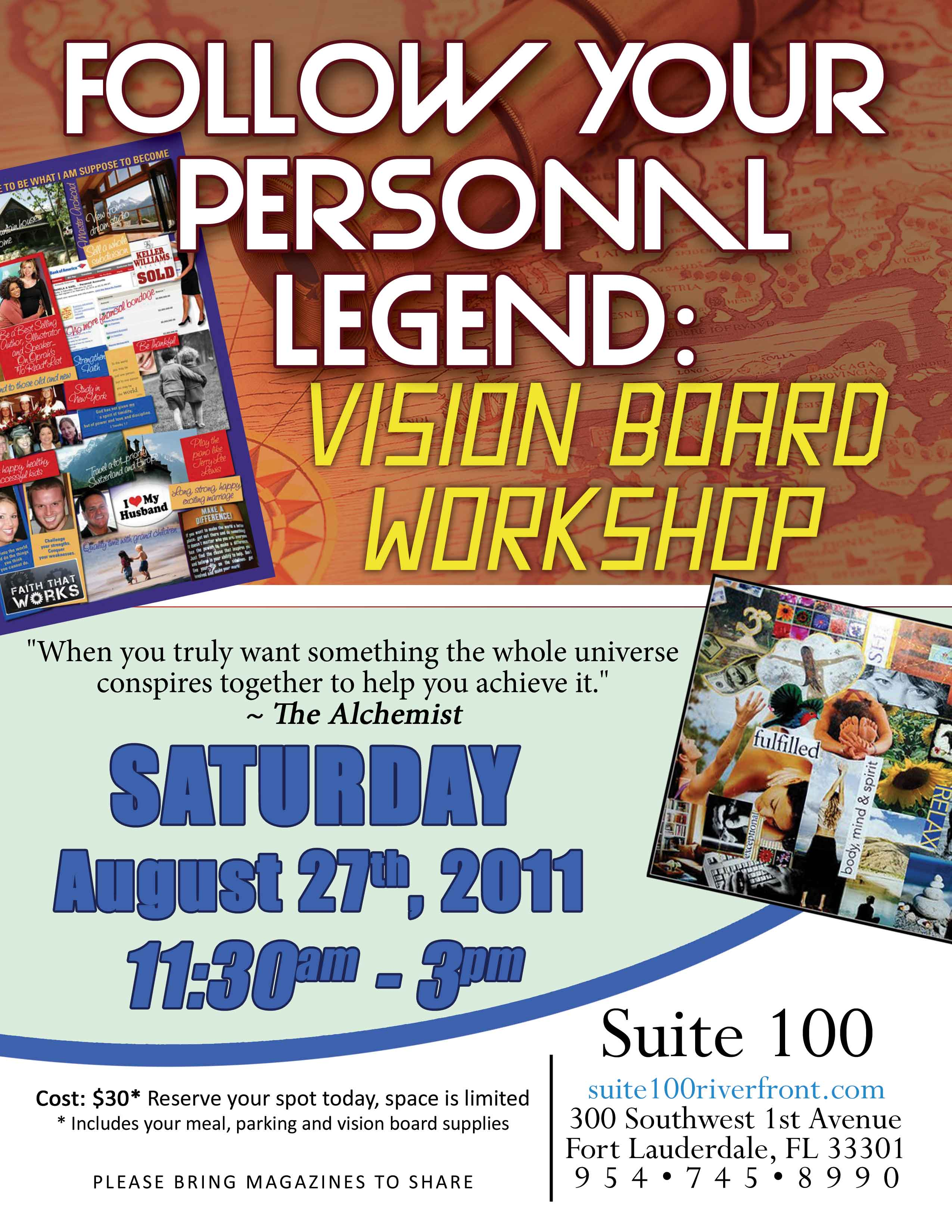 Vision Board Event for Growth & Success Tickets, Fri, Apr ... |Events Vision Board