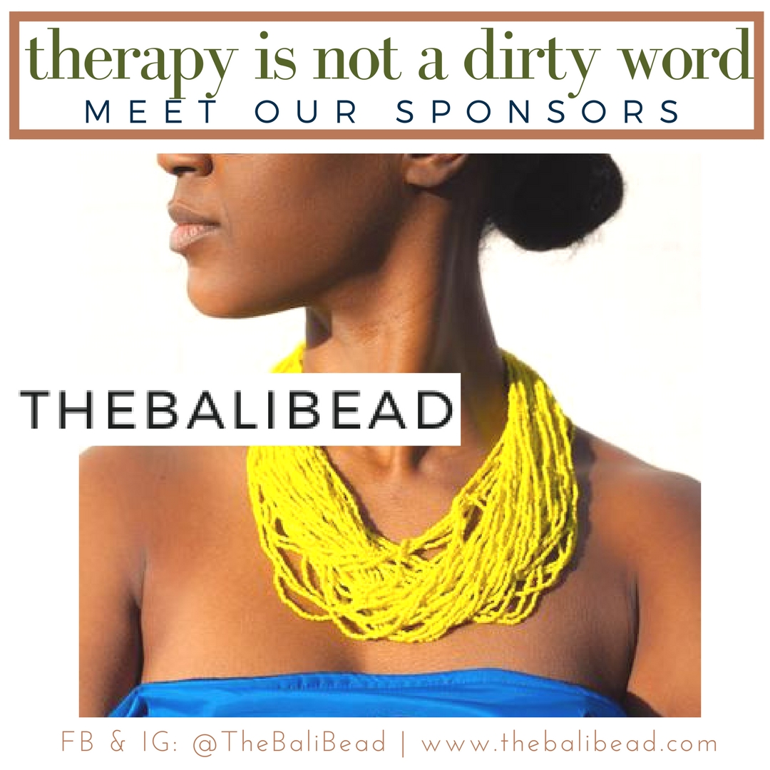 Meet The Bali Bead - Therapy Is Not A Dirty Word National Sponsor