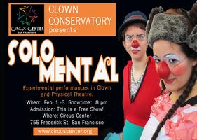 'Solo Mental' at Circus Center
