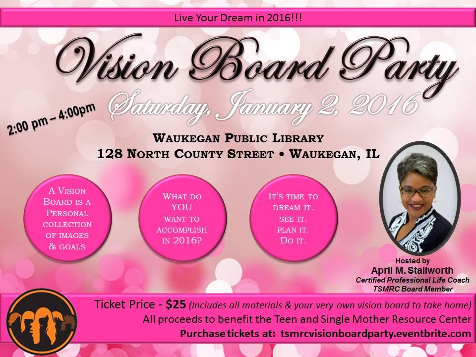 2016 Vision Board Party Tickets, Sat, Jan 2, 2016 at 2:00 ...