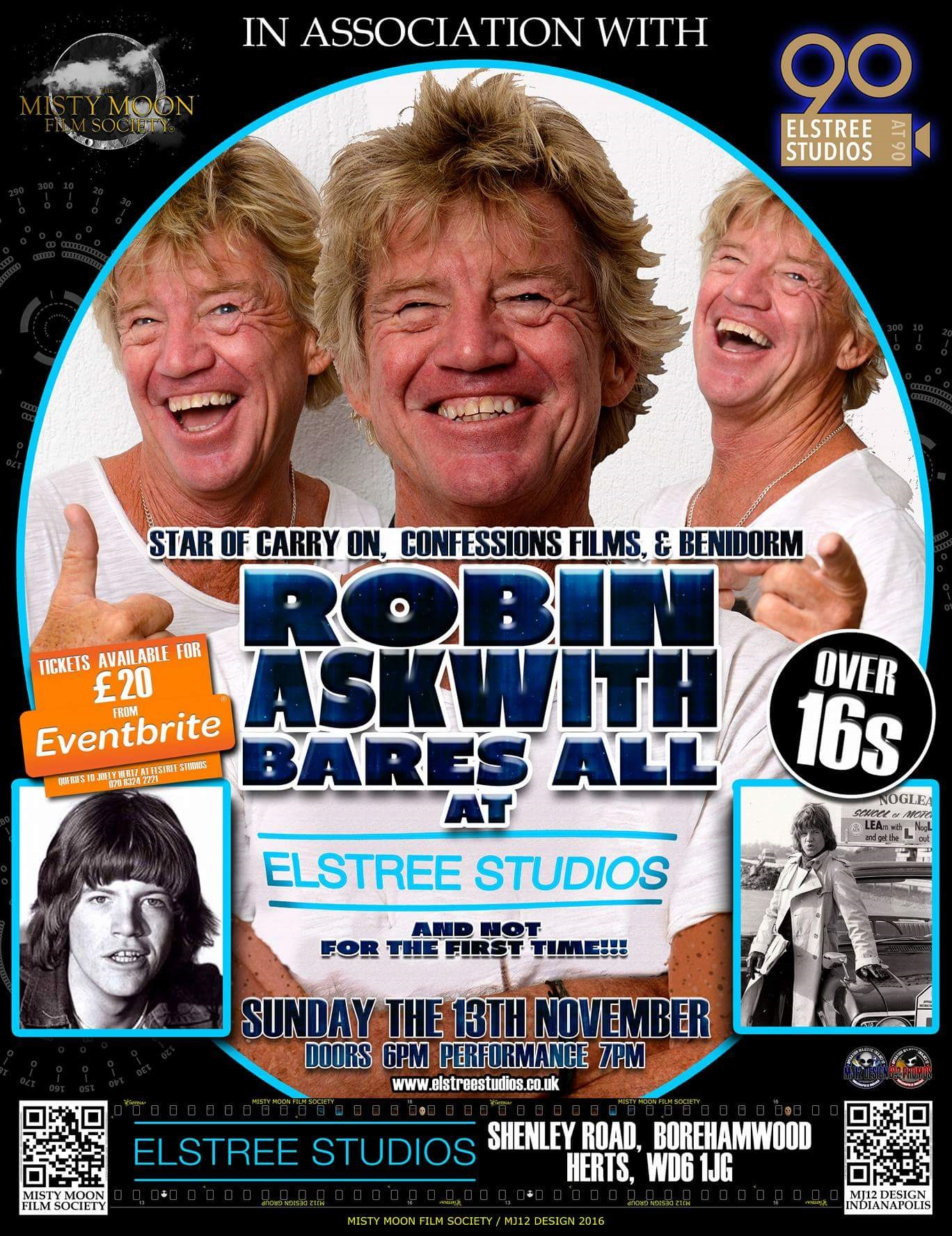 Robin Askwith Poster