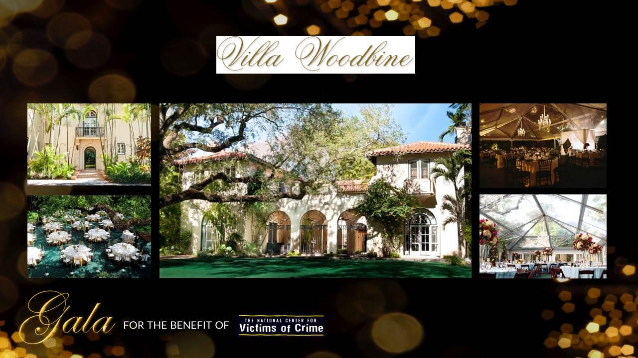 Charity Gala Miami Villa woodbine Victims of crime