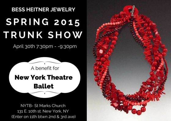 jewelry Show in NYC - New York Theatre Ballet