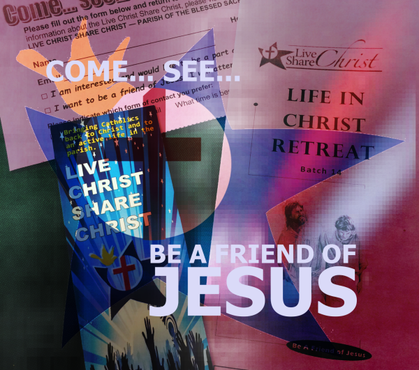 Be A Friend of Jesus - Live Christ Share Christ