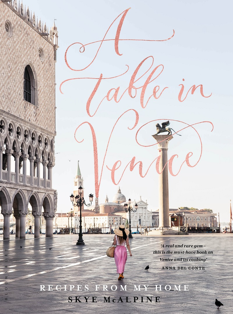 A Table in Venice - Front Cover