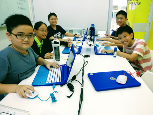 Kids Learning to Code with Python