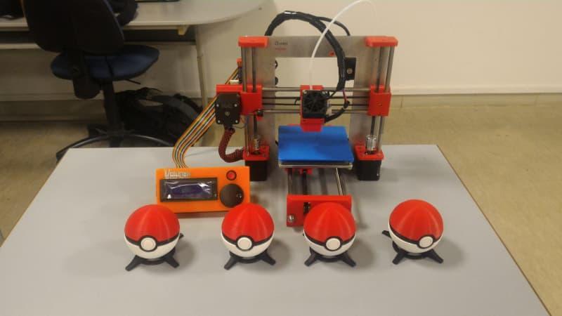 3D Printed Pokeballs