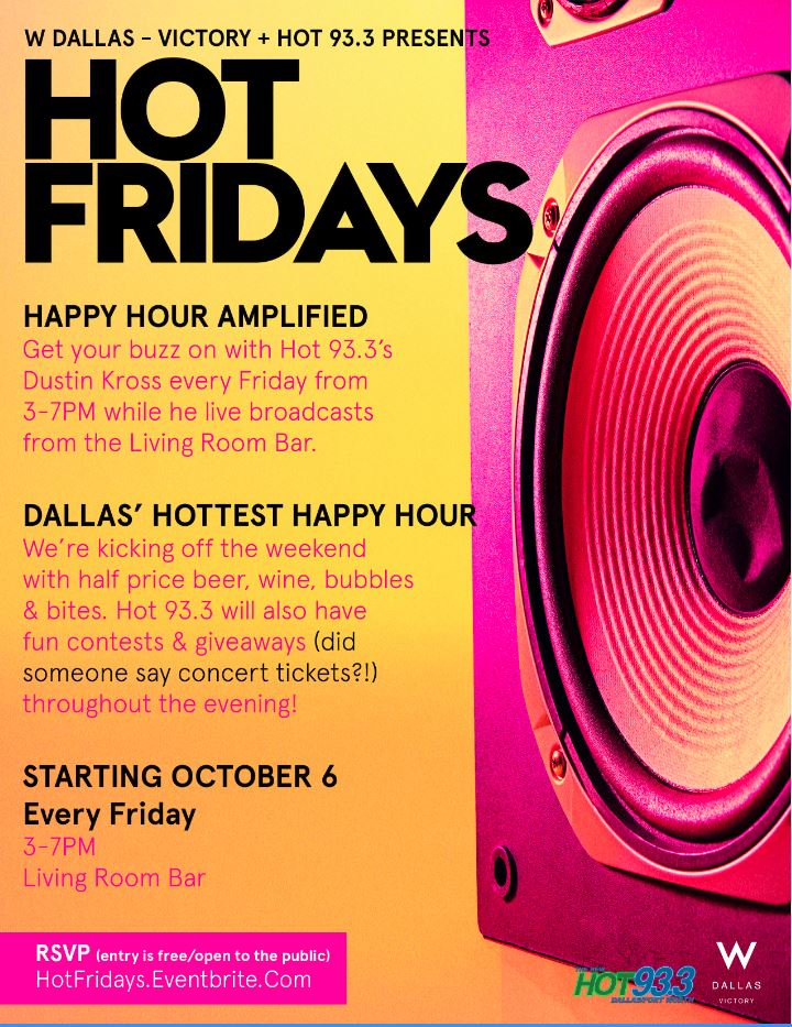 Hot Fridays Happy Hour Tickets Multiple Dates