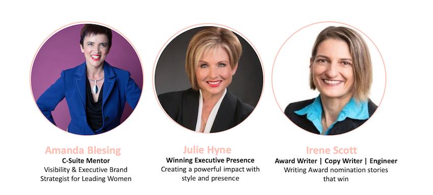 Women of Impact Winter Leadership Retreat guest speakers with Amanda Blesing