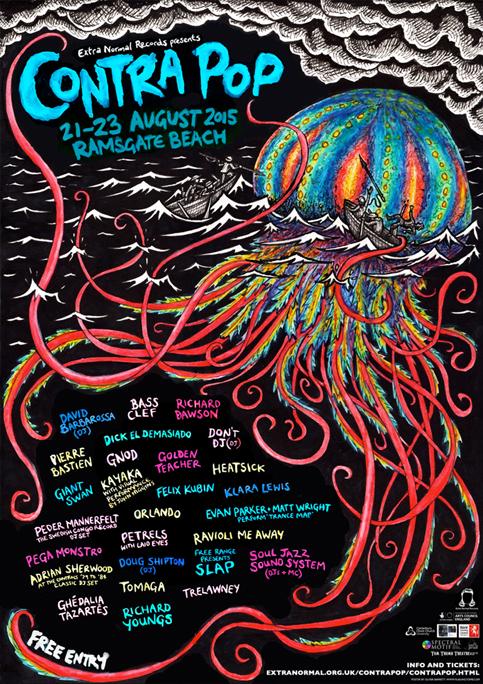Contra Pop Festival Poster