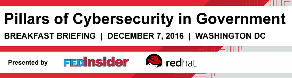 Pillars of Cybersecurity in Government, December 7, Washington DC