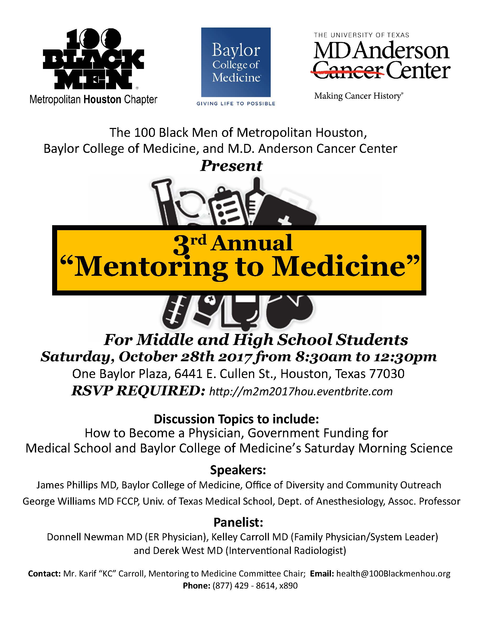 Mentoring to Medicine 2017