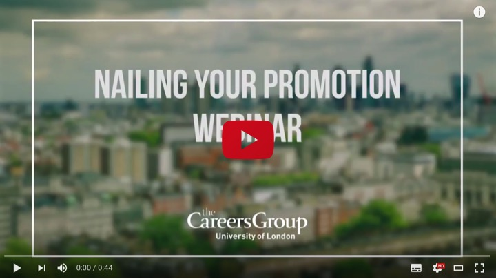 Preview our webinar on how to nail a promotion