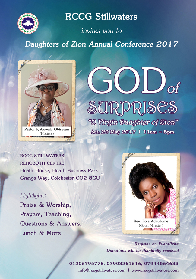 Daughters of Zion Annual Women's Conference 2017