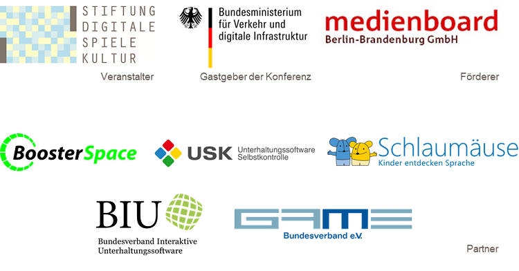 Veranstalter, Förderer und Partner der Fachkonferenz