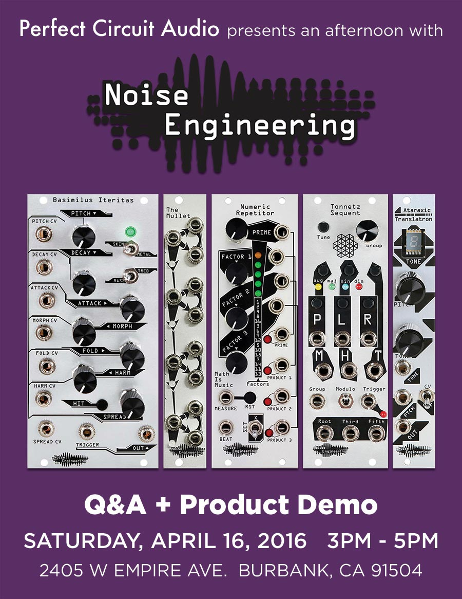 Noise Engineering Question & Answer & Product Demo