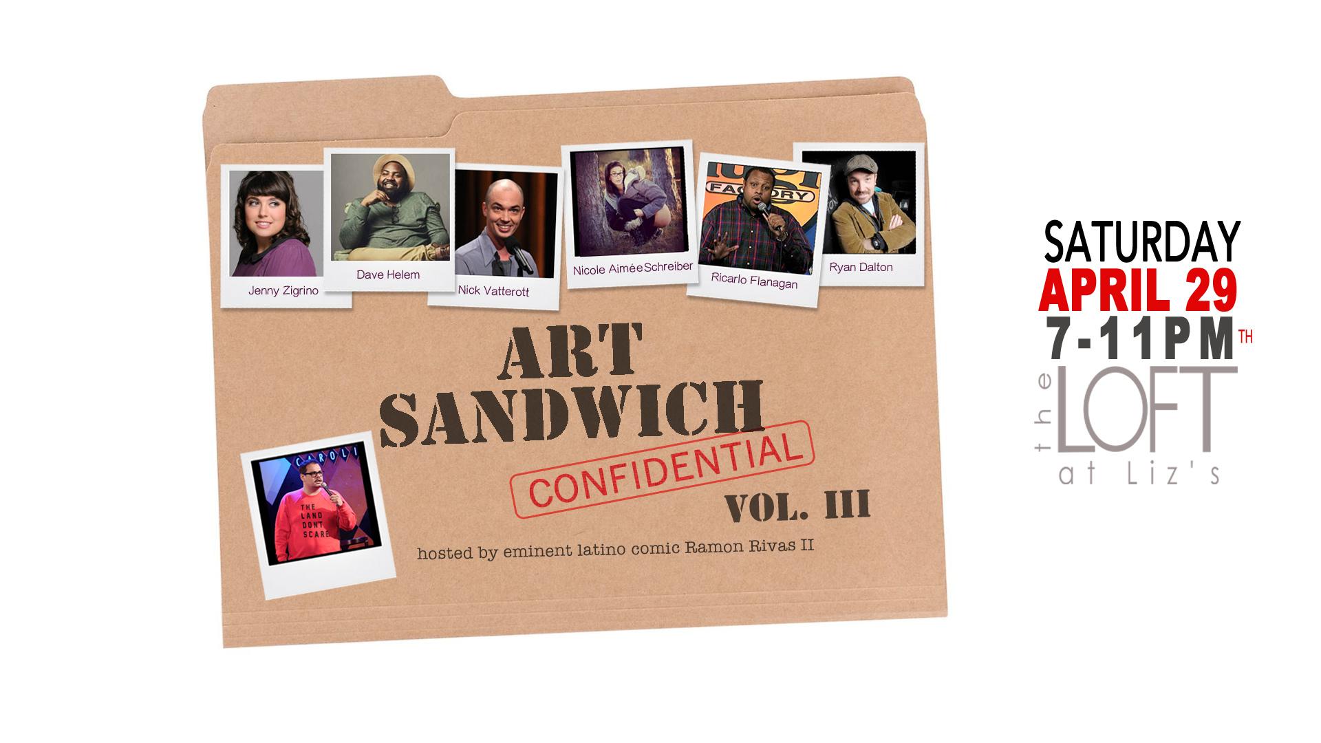 Art Sandwich Confidential vol III