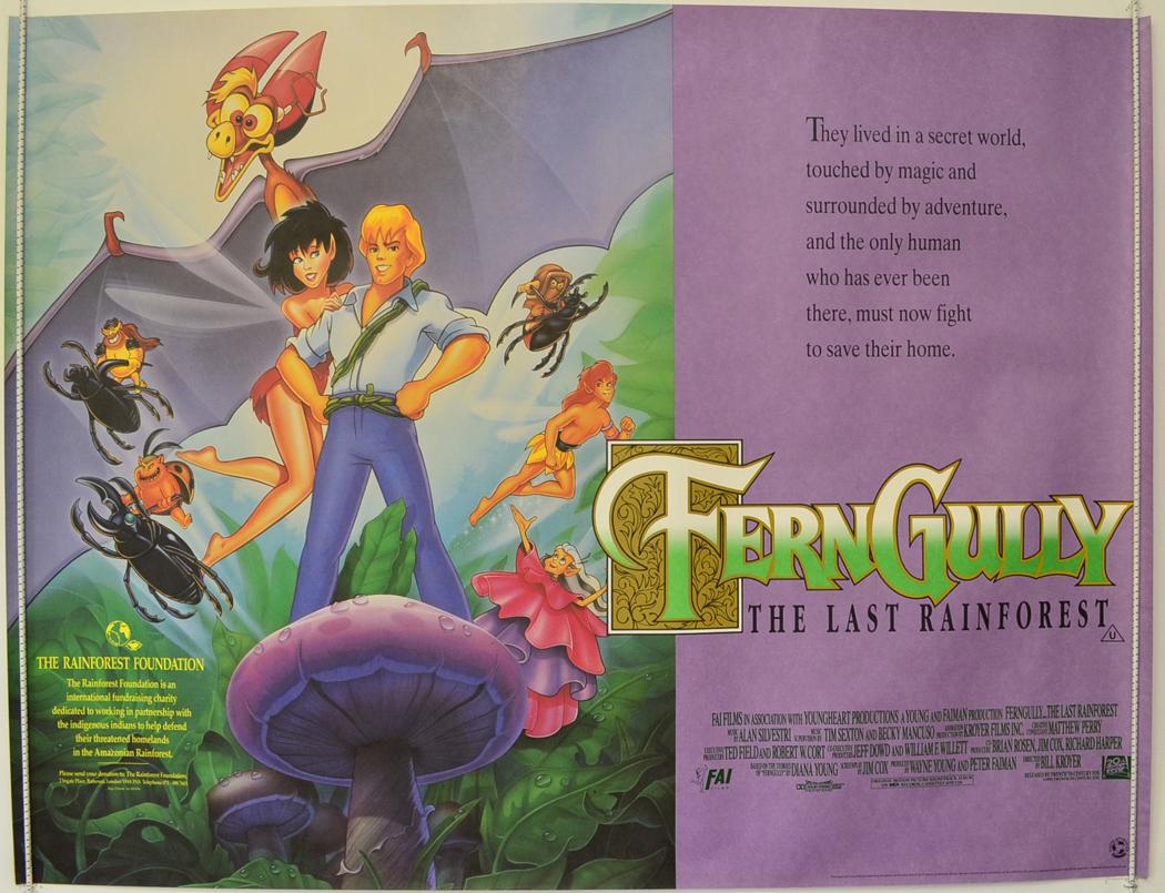 Fern Gully poster