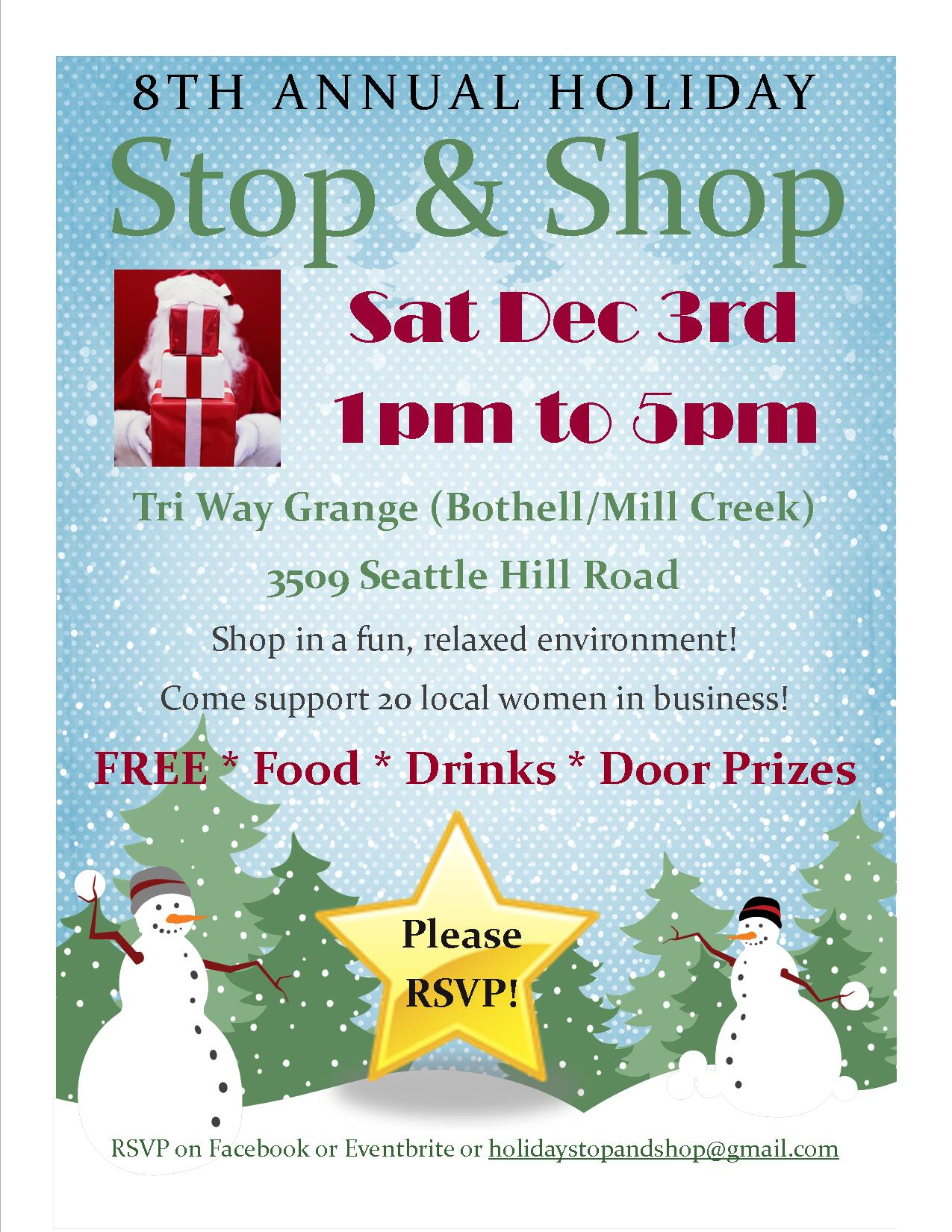 8th Annual Holiday Stop & Shop