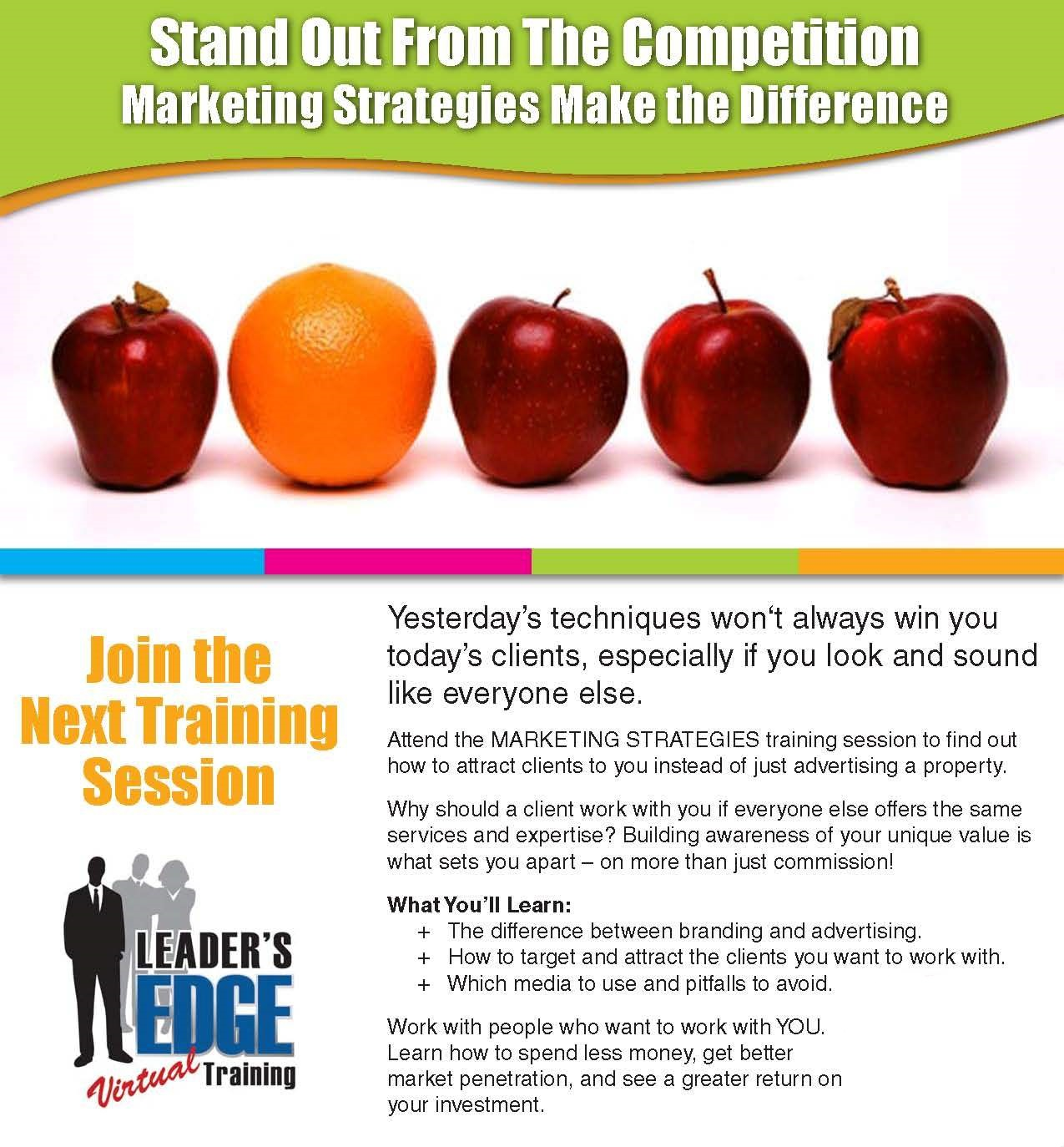 Chris Leader's Marketing Strategies Training Facilitated by Eric Eaton