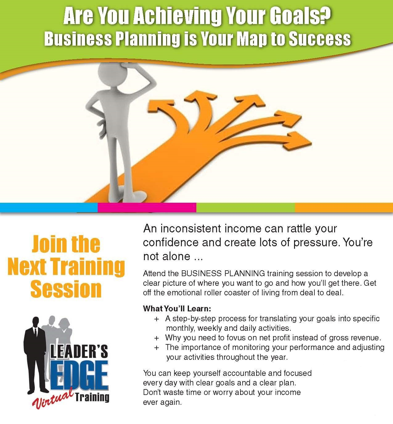 Chris Leader's Business Planning Training Facilitated by Eric Eaton