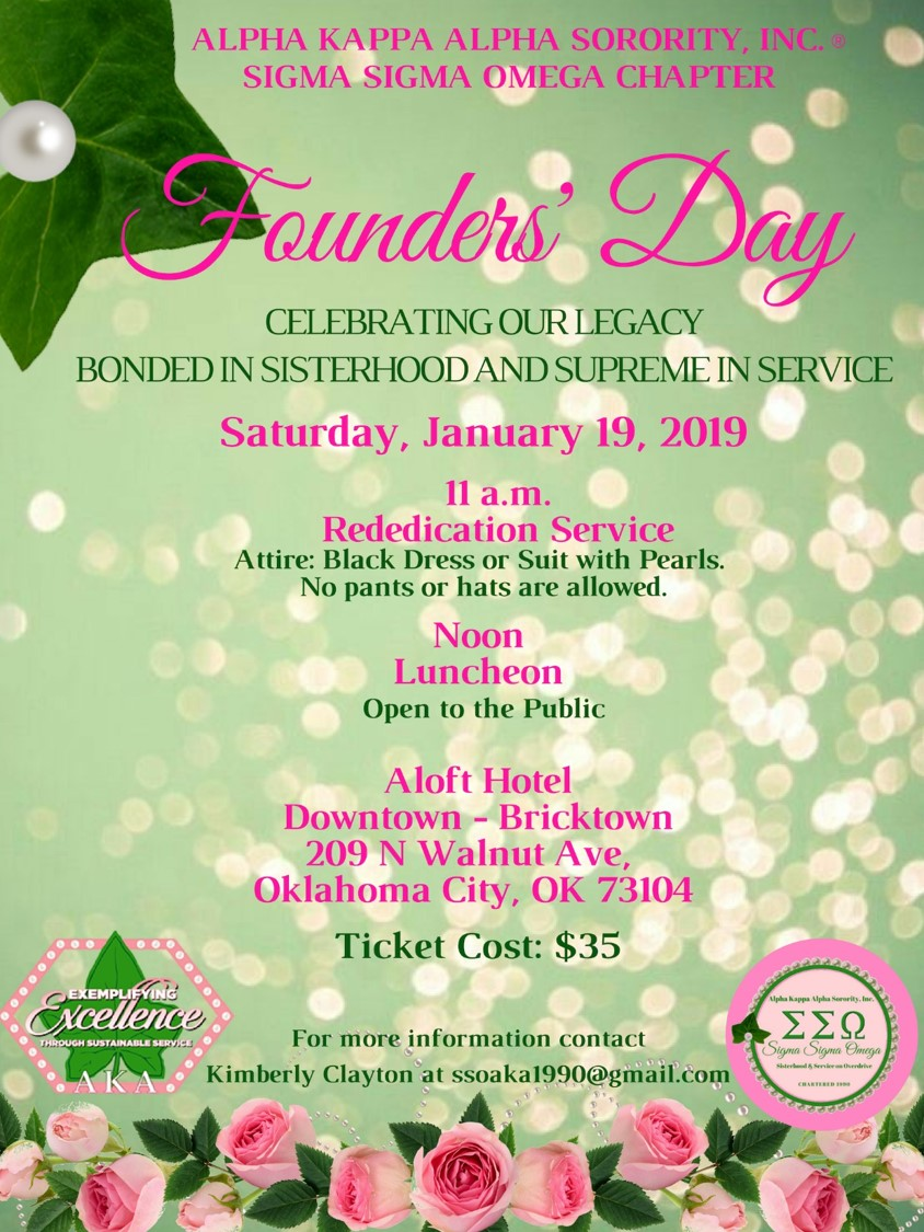 2019 SSO Founders' Day