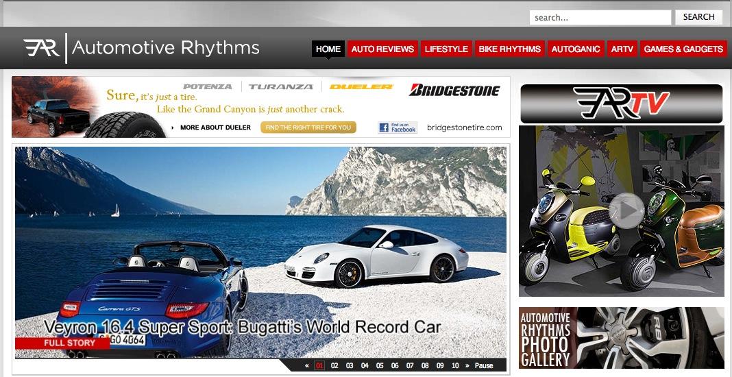 Automotive Rhythms Home Page