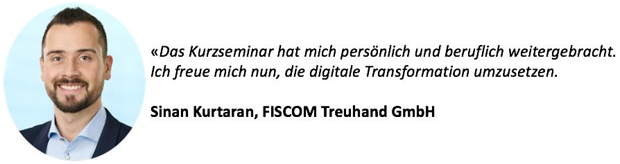 Sinan Kurtaran, FISCOM Treuhand GmbH