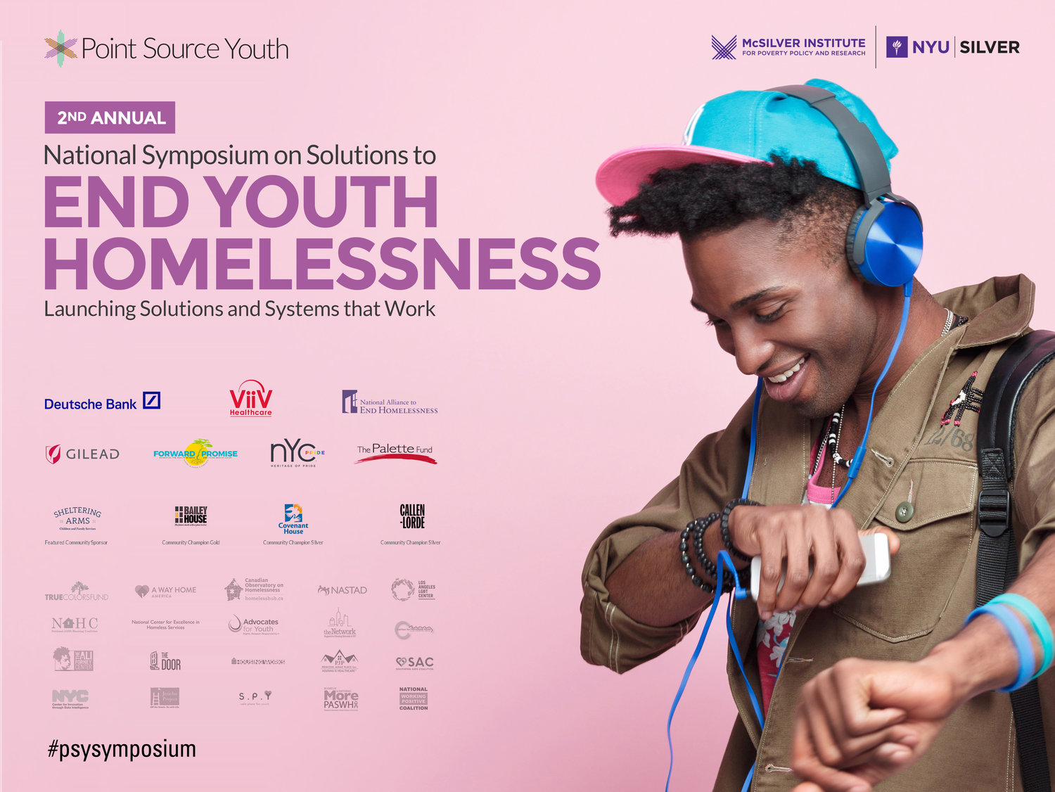 Second National Symposium on Solutions to End Youth Homelessness