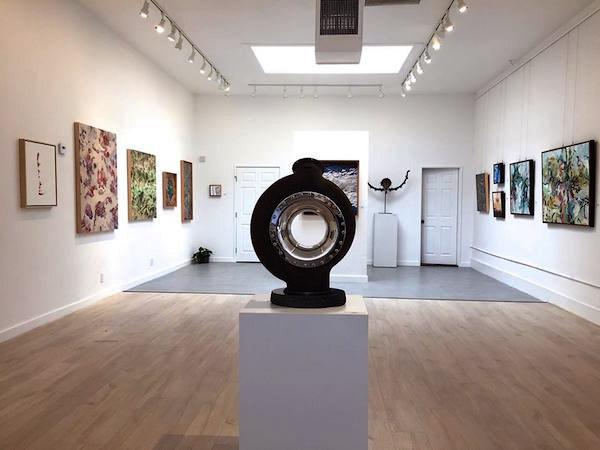 Beautiful new exhibit space for the Santa Barbara Studio Artists
