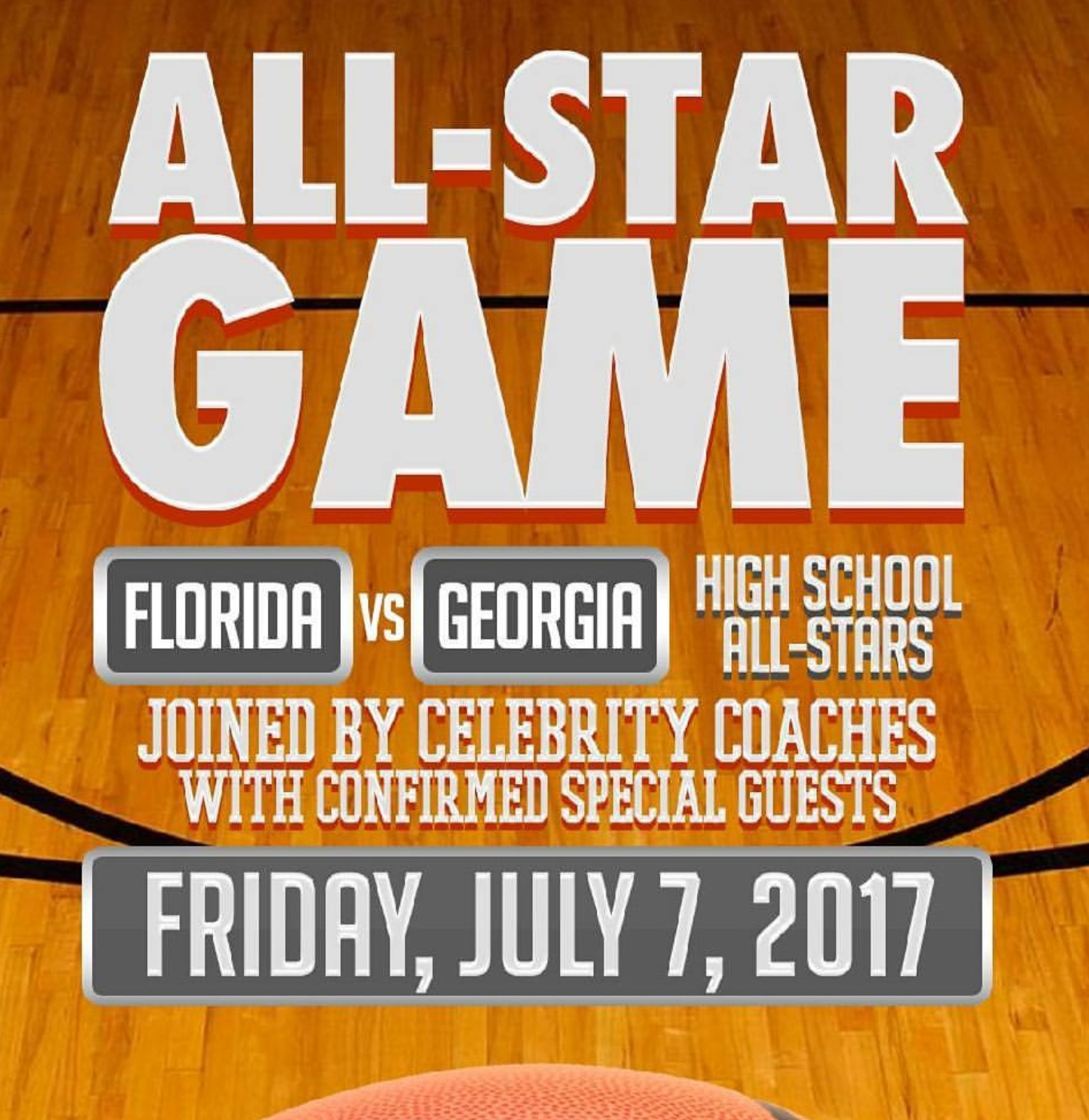 All-Star High School Basketball Game with Celebrity Coaches