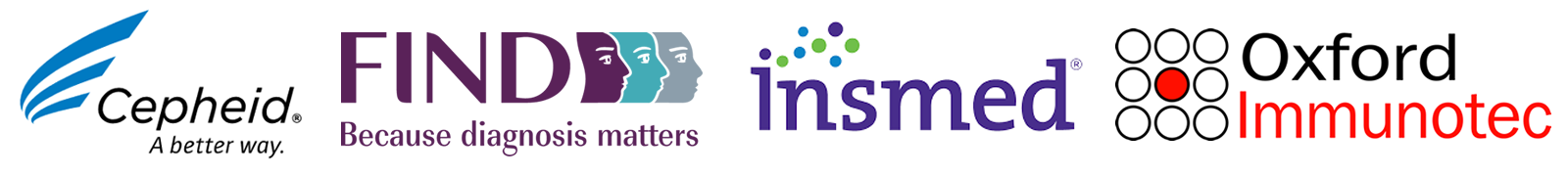 Sponsors: Cepheid, FIND, Insmed, Oxford Immunotec