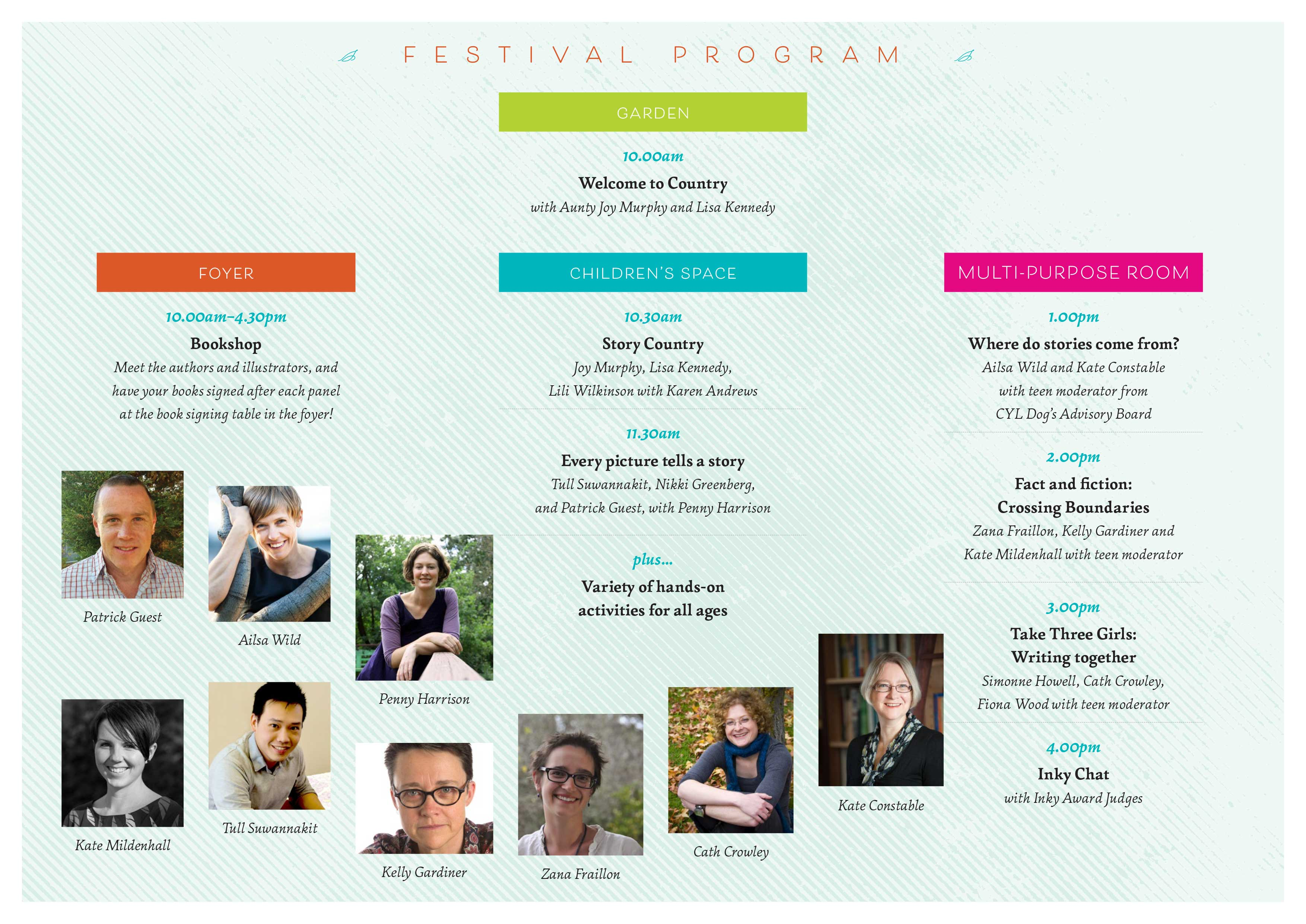 Eltham Festival of Stories Program