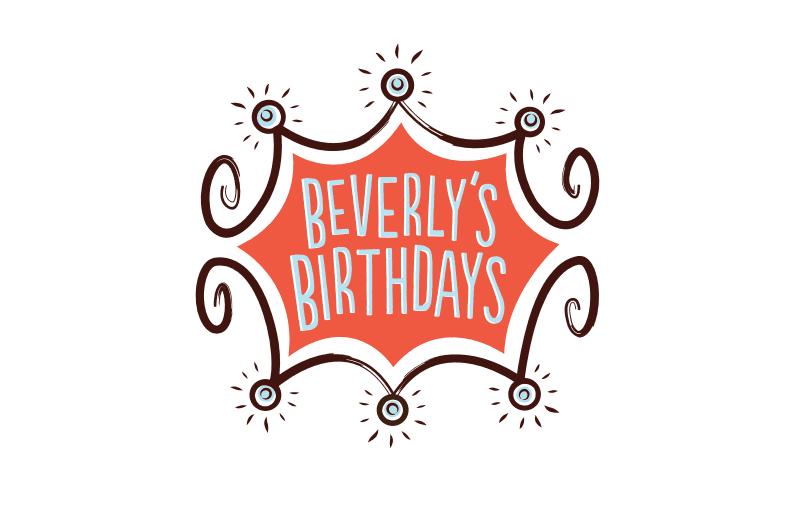 Beverly's Birthdays Logo