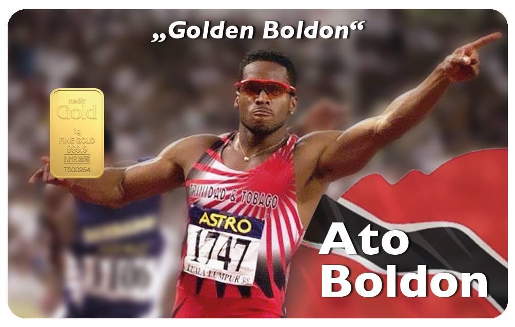Ato Boldon Collector Card