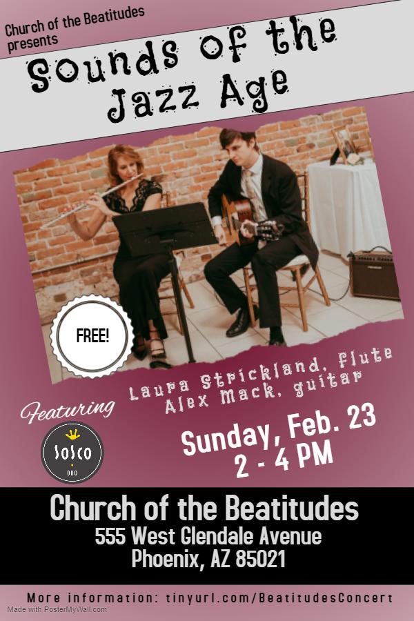 Sounds of the Jazz Age Concert Phoenix