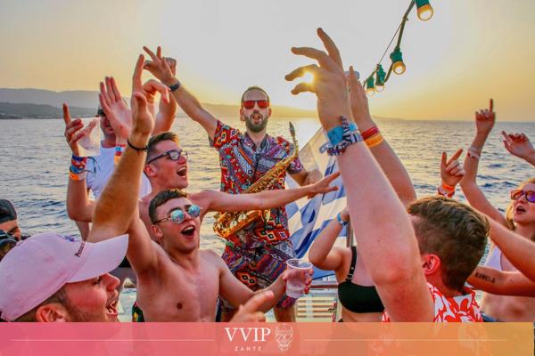Zante's Boat Party
