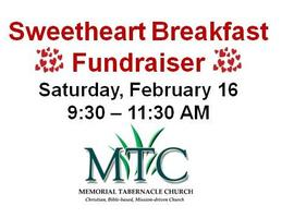 Vendor Registration | Annual Sweetheart Breakfast (Feb 16)