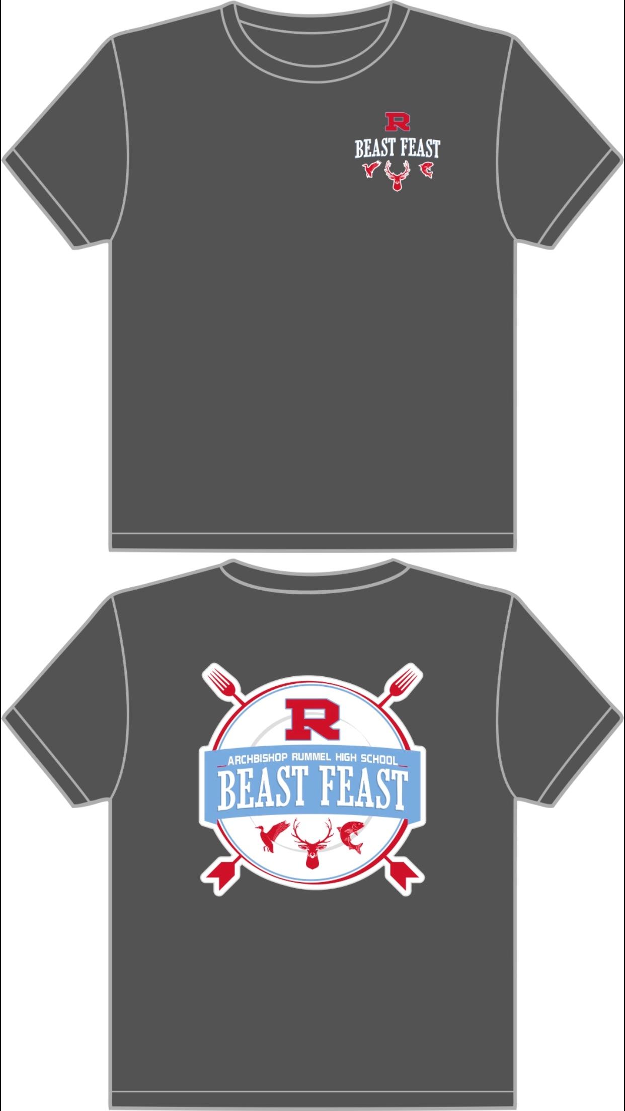 2018 Beast Feast T-shirt