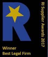 Winner, Best Legal Firm, Recruitment International's Supplier Awards
