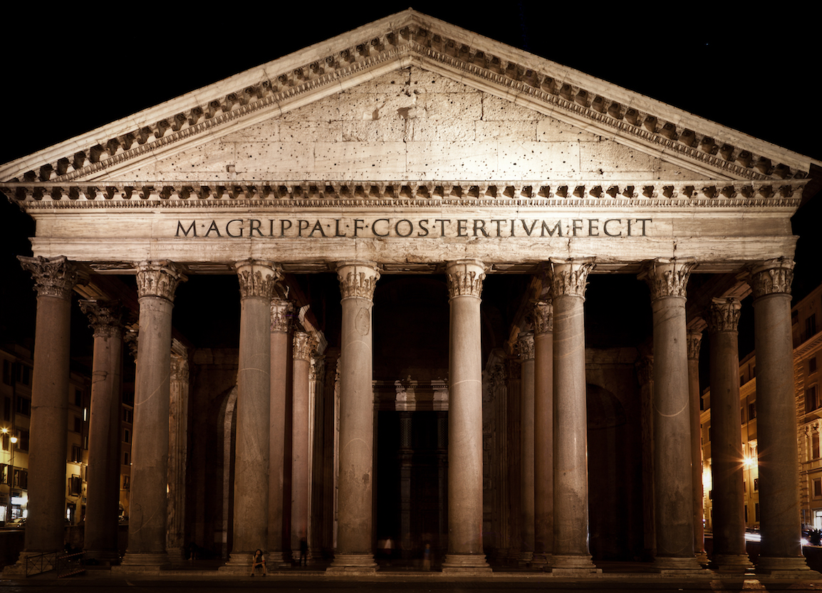 Pantheon guided tour join the tour every day at noon for Esterno pantheon
