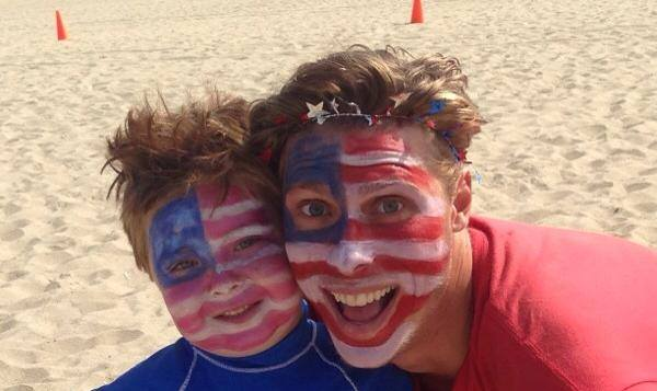 Fitness by the Sea Theme Day Face Paint